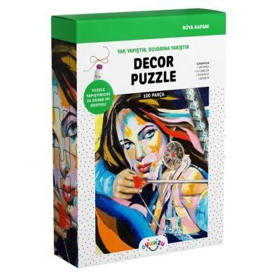 Oyunzu Rüya Kapanı Dekor Puzzle 100 Parça
