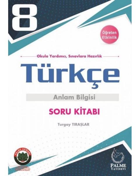 Palme Yayıncılık 8. Sınıf LGS Türkçe Anlam Bilgisi Soru Kitabı