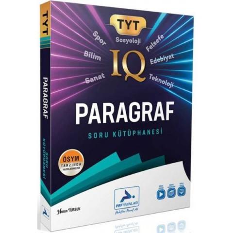Prf Yayınları 2021 TYT IQ Paragraf Soru Kütüphanesi