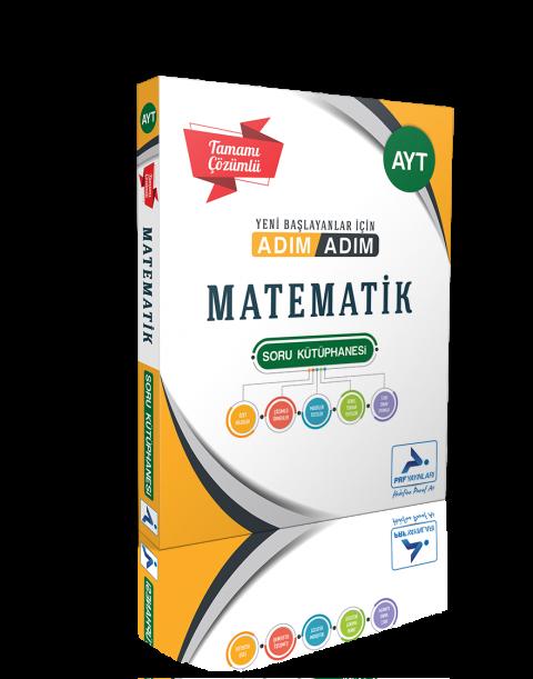 Prf Yayınları Ayt Adım Adım Matematik Çözümsüz Soru Kütüphanesi