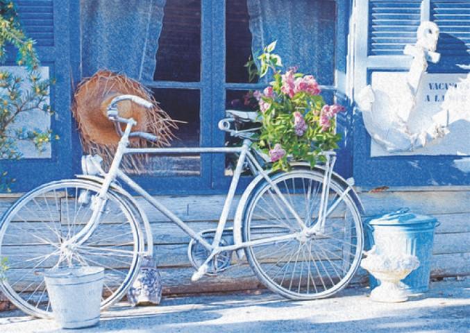 Puzz Bisiklet 1000 Parça Puzzle