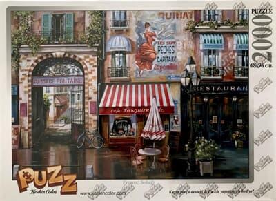 Puzz Fransız Sokağı 2000 Parça Puzzle