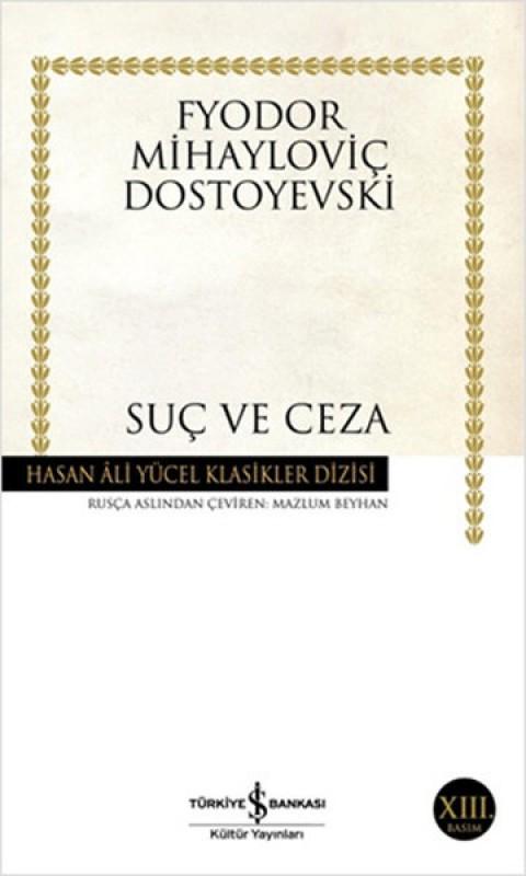 Suç ve Ceza - Dostoyevski Hasan Ali Yücel Klasikleri