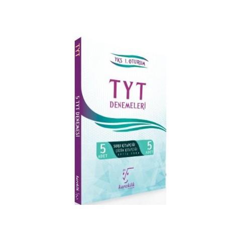TYT 5 li Çözümlü Deneme Seti Karekök Yayınları
