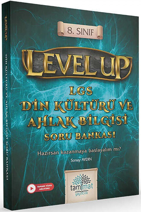 Tammat Yayıncılık 8.Sınıf Level Up LGS Din Kültürü ve Ahlak Bilgisi Soru Bankası