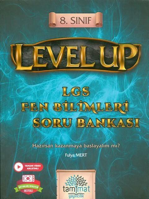 Tammat Yayıncılık 8.Sınıf Level Up LGS Fen Bilimleri Soru Bankası