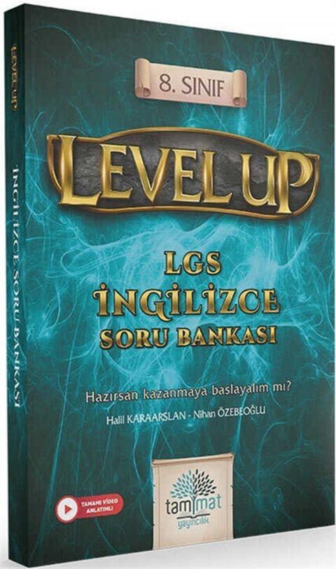 Tammat Yayıncılık 8.Sınıf Level Up LGS İngilizce Soru Bankası