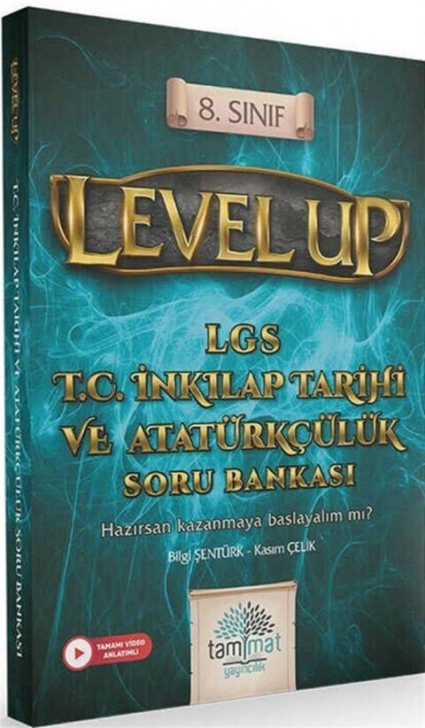 Tammat Yayıncılık 8.Sınıf Level Up LGS TC İnkılap Tarihi ve Atatürkçülük Soru Bankası