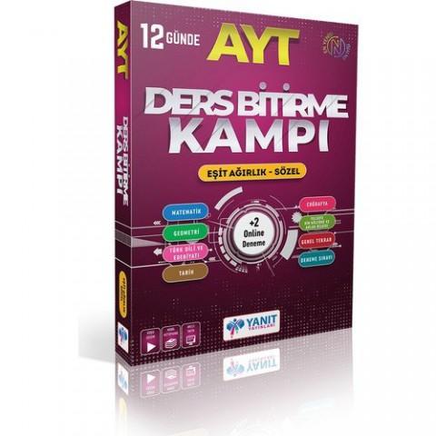 Yanıt Yayınları AYT Eşit Ağırlık Sözel 12 Günde Ders Bitirme Kampı