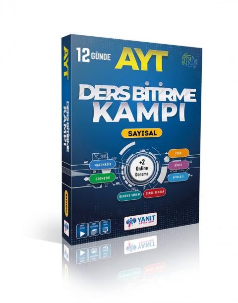 Yanıt Yayınları AYT Sayısal 12 Günde Ders Bitirme Kampı