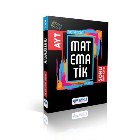 Yanıt Yayınları Ayt Baştan Sona Matematik Soru Bankası