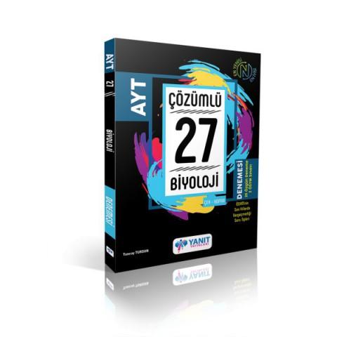 Yanıt Yayınları Ayt Çözümlü 27 Biyoloji Branş Denemesi
