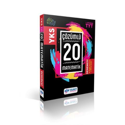 Yanıt Yayınları Tyt Çözümlü 20 Matematik  Branş Denemesi